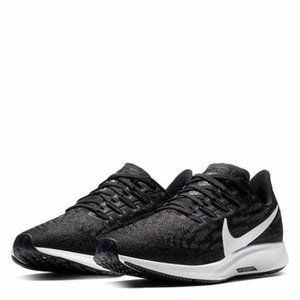 NEW NIKE Air Zoom Pegasus 36 Black White 10.5 D